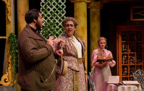 Stetson Theatre Department's rendition of The Importance of Being Earnest. Photo courtesy of the Stetson Theatre Department