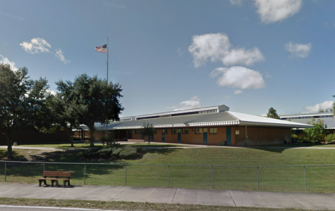 DeLand Middle School: location of the weapons threat.  Google street view
