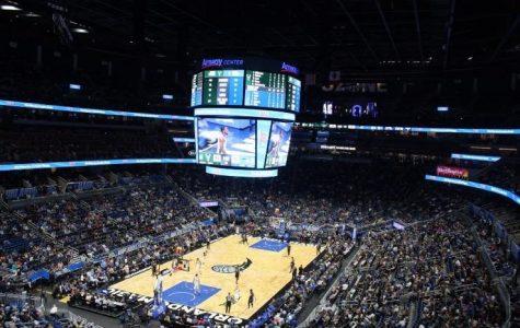 Amway center during Milwaukee Bucks vs the Orlando Magic.