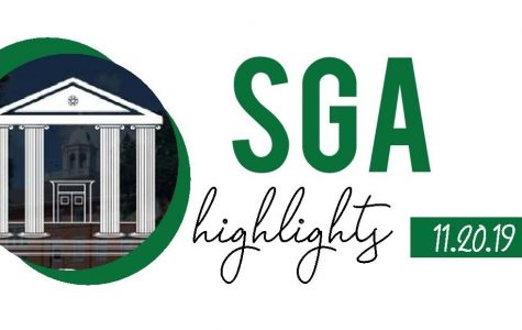 SGA Highlights. Written by: Jenny Fang.