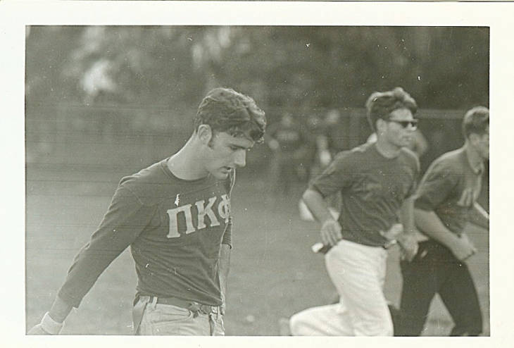 Pi+Kappa+Phi+members+from+1968+playing+in+intramural+sports+on+campus.+Photo+by+Stetson+Archives.
