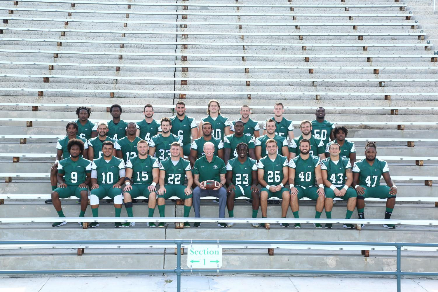 Photo of the Stetson Hatters courtesy of Ricky Hazel, Associate Atheltic Director.