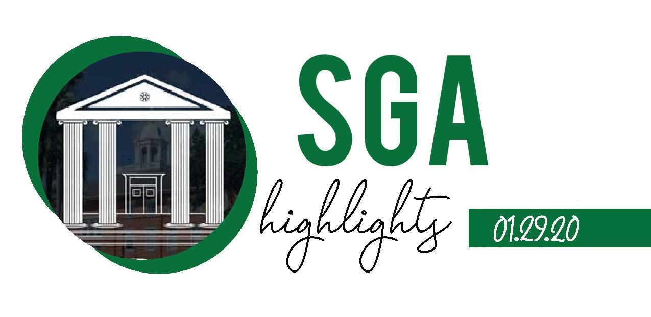 SGA Highlights – 1/29