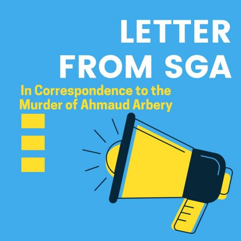 SGA's Letter in Correspondence to the Murder of Ahmaud Arbery
