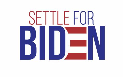 Popular image shared across Twitter urging voters to settle for Biden.