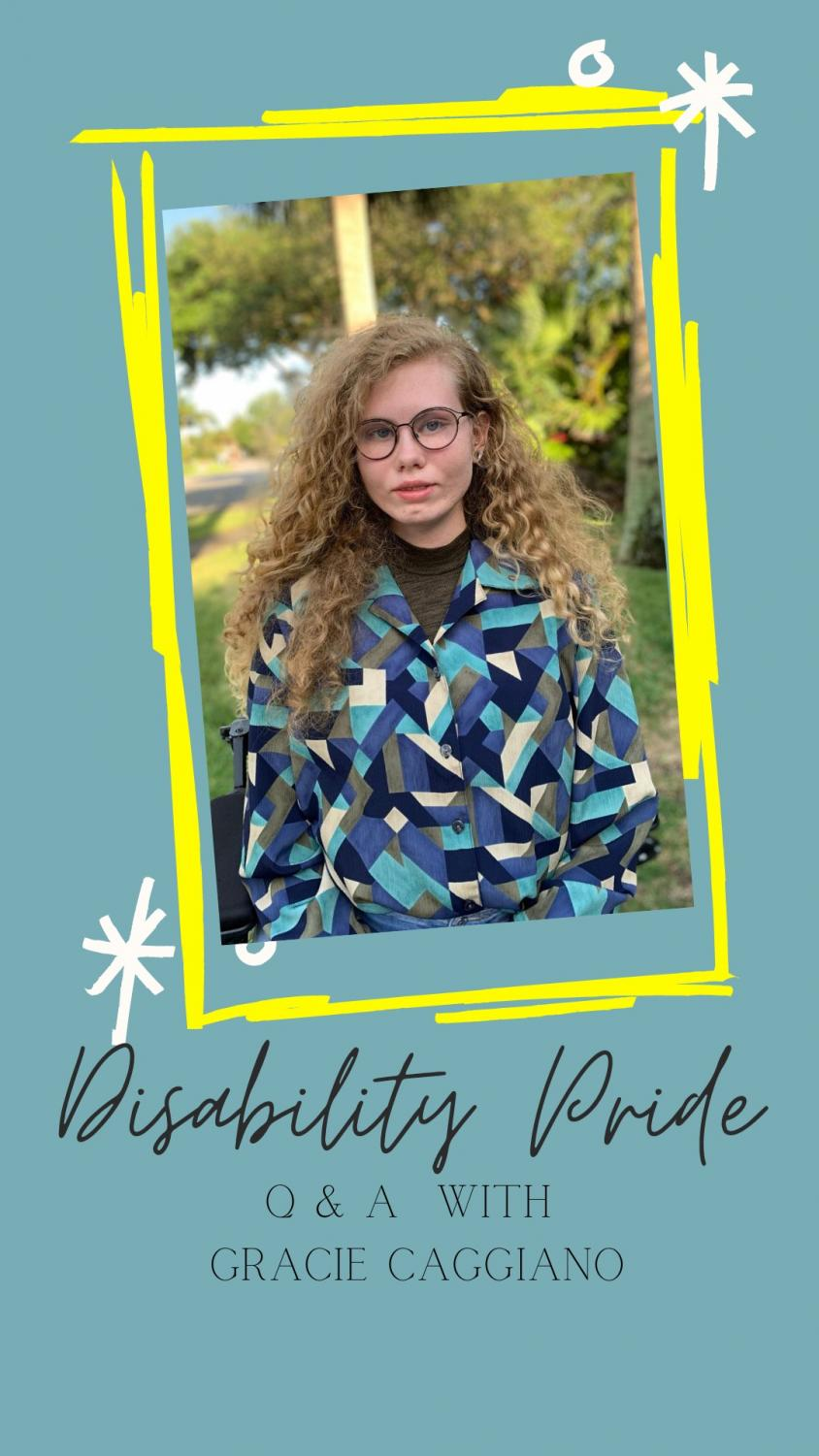 Disability Pride Month: A Q&A with Gracie Caggiano