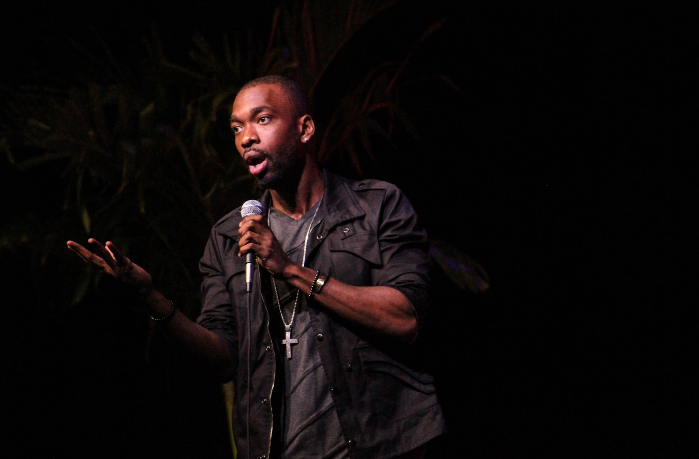 Jay Pharoah performed during Stetson's Homecoming.