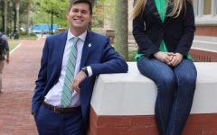 George Alderman and Hannah Weary, candidates for SGA President and Vice President for the 2019-2010 academic year.