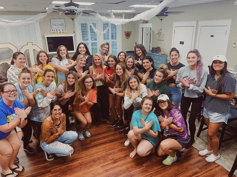 Kristian Haggerty From Bachelor in Paradise Visits Stetson University by Surprise