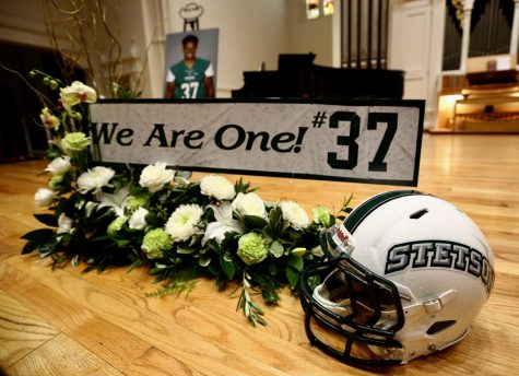 Stetson University remembers Nick Blakely. Photo courtesy of Stetson University Athletics.