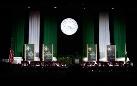Commencement 2015 held inside of the Edmunds Center. Photo/Stetson University