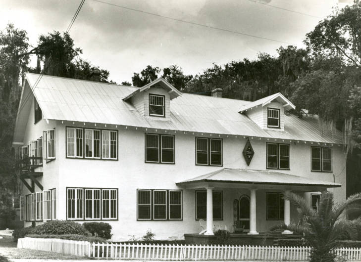 Pi+Kappa+Phi+House+from+the+1950s.+Photo+by+Stetson+Archives.