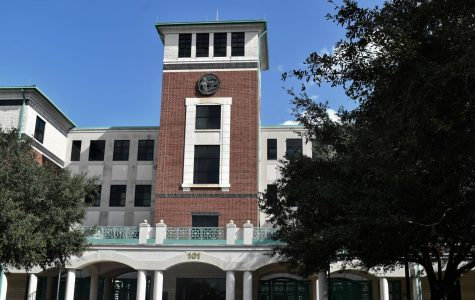 Volusia County Courthouse in downtown DeLand, where Aileen Wuornos' trial was held.