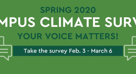 Let Your Voice Be Heard in the Campus Climate Survey
