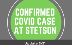 Confirmed COVID-19 Case at Stetson