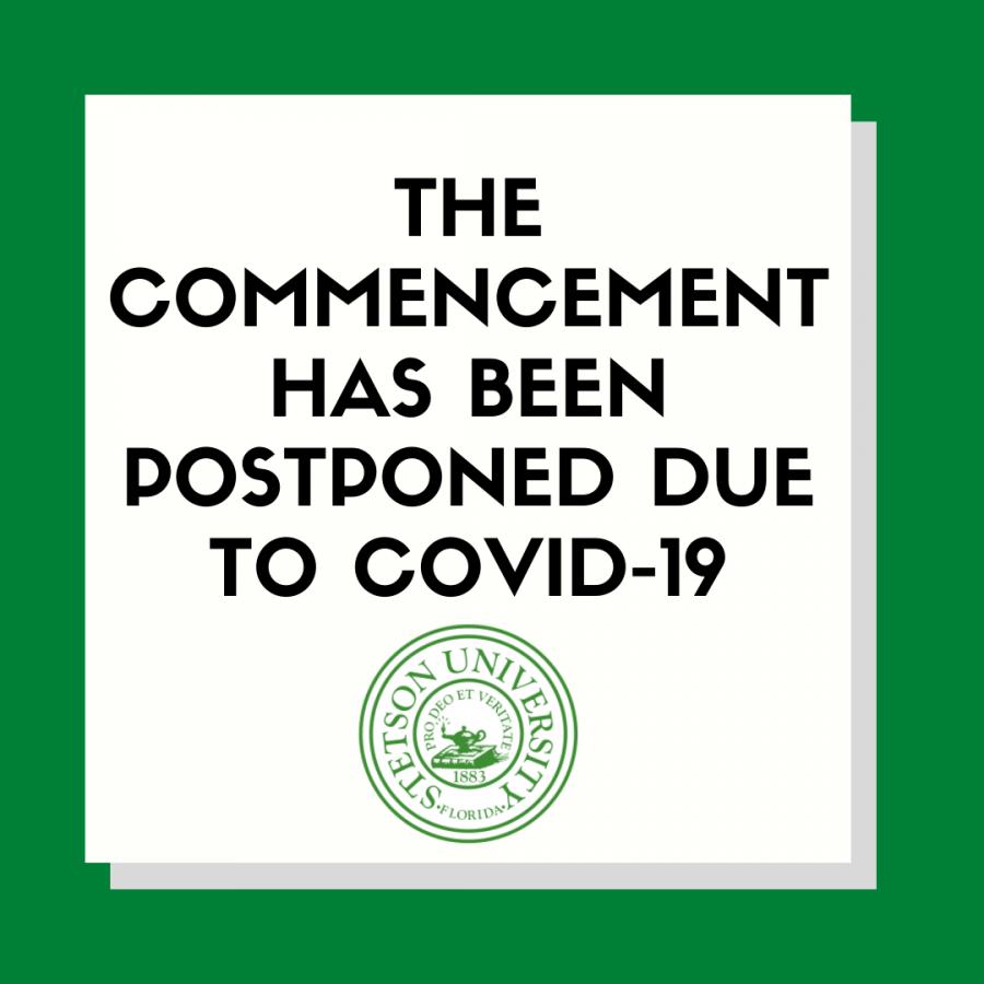 Corona Postpones Commencement