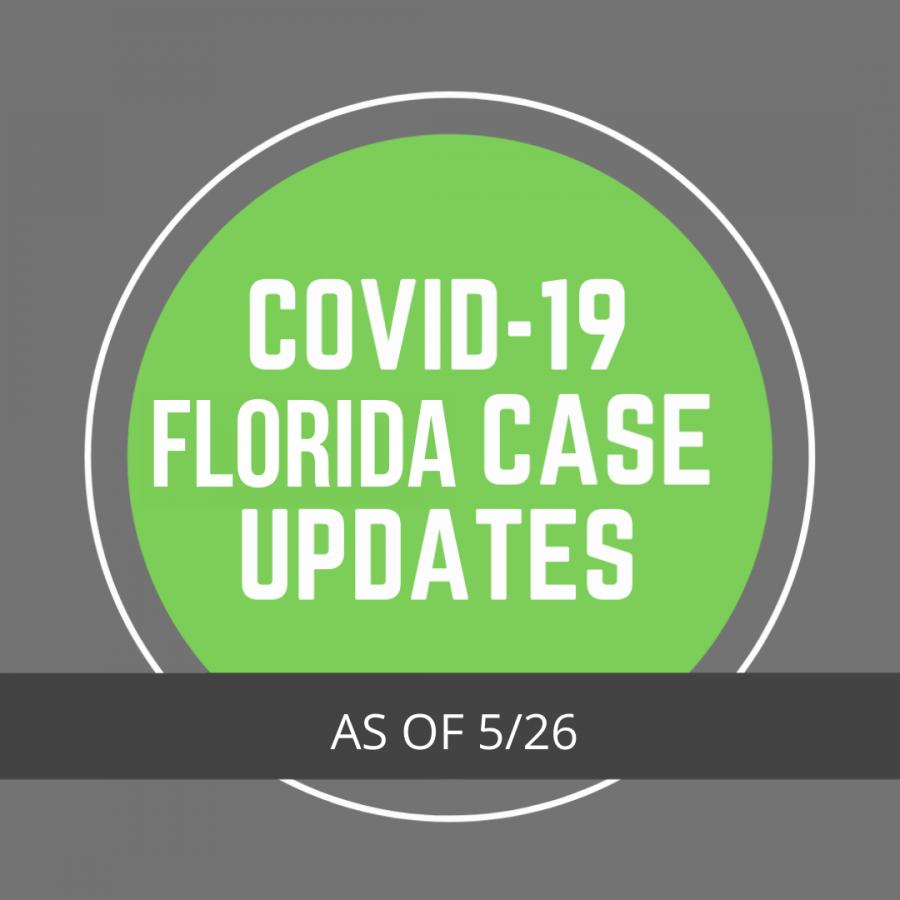 Florida COVID-19 Case Updates – 5/26