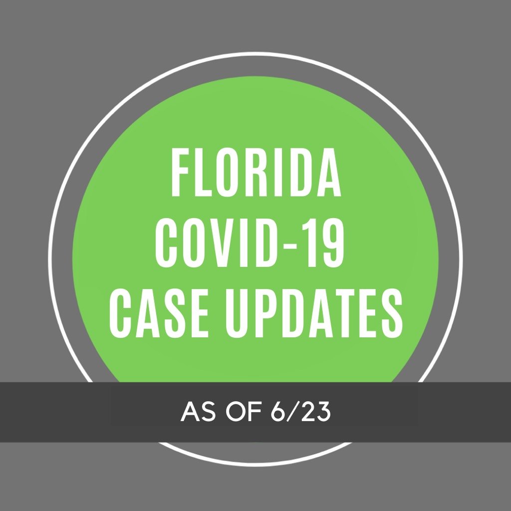Florida COVID-19 Case Updates - 6/23