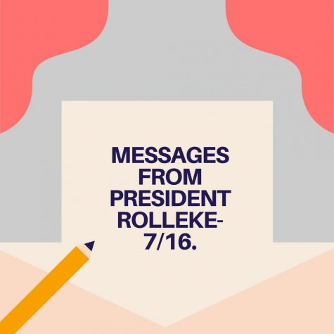 Messages from President Roellke - 7/16