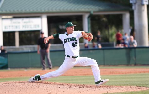 Robbie Peto (49) was selected as team captain for the Hatters baseball team for the spring 2020 campaign.