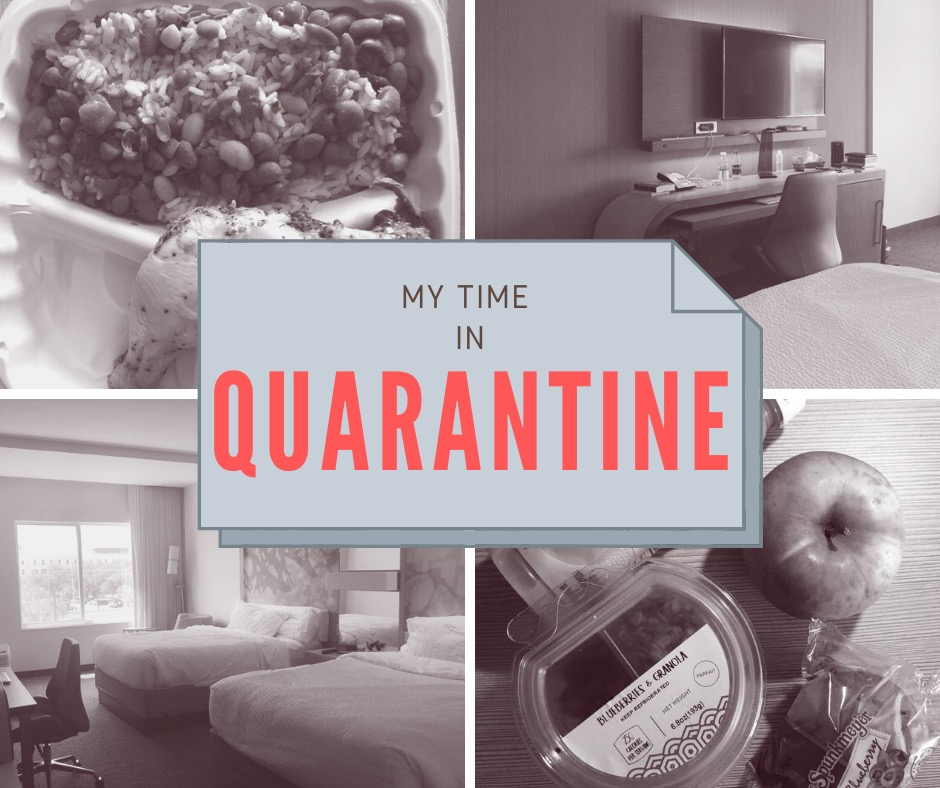 My Time in Quarantine