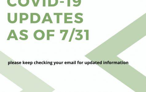 Stetson COVID-19 Updates - 7/31