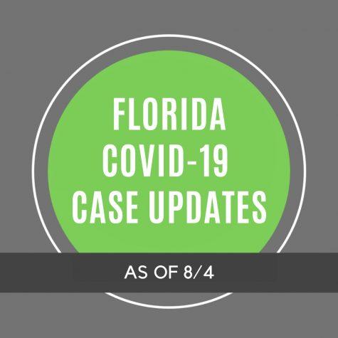 Florida COVID-19 Case Updates - 8/4