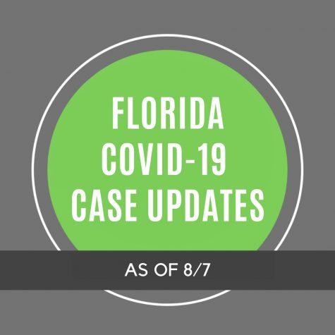 Florida COVID-19 Case Updates - 8/7