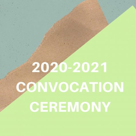 2020-2021 Convocation Ceremony