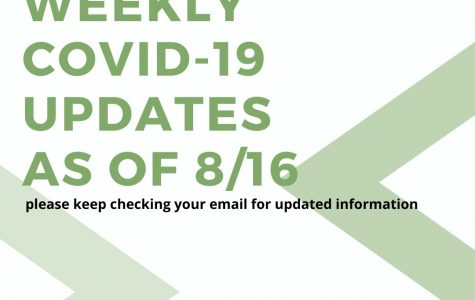 Weekly COVID-19 Updates - 8/16