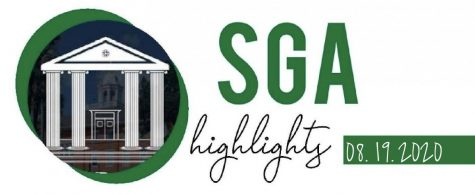 SGA Highlights. Written by Jenny Fang.