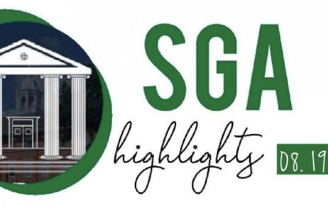 SGA Highlights. Written by Jenny Fang.