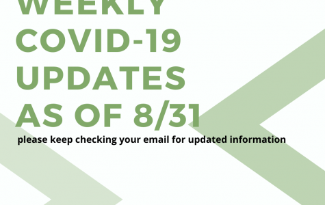 Weekly COVID-19 Updates - 8/31