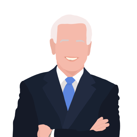 Graphic of Joe Biden