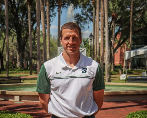 Emmett Rutkowski, Head Coach of the men's soccer team.